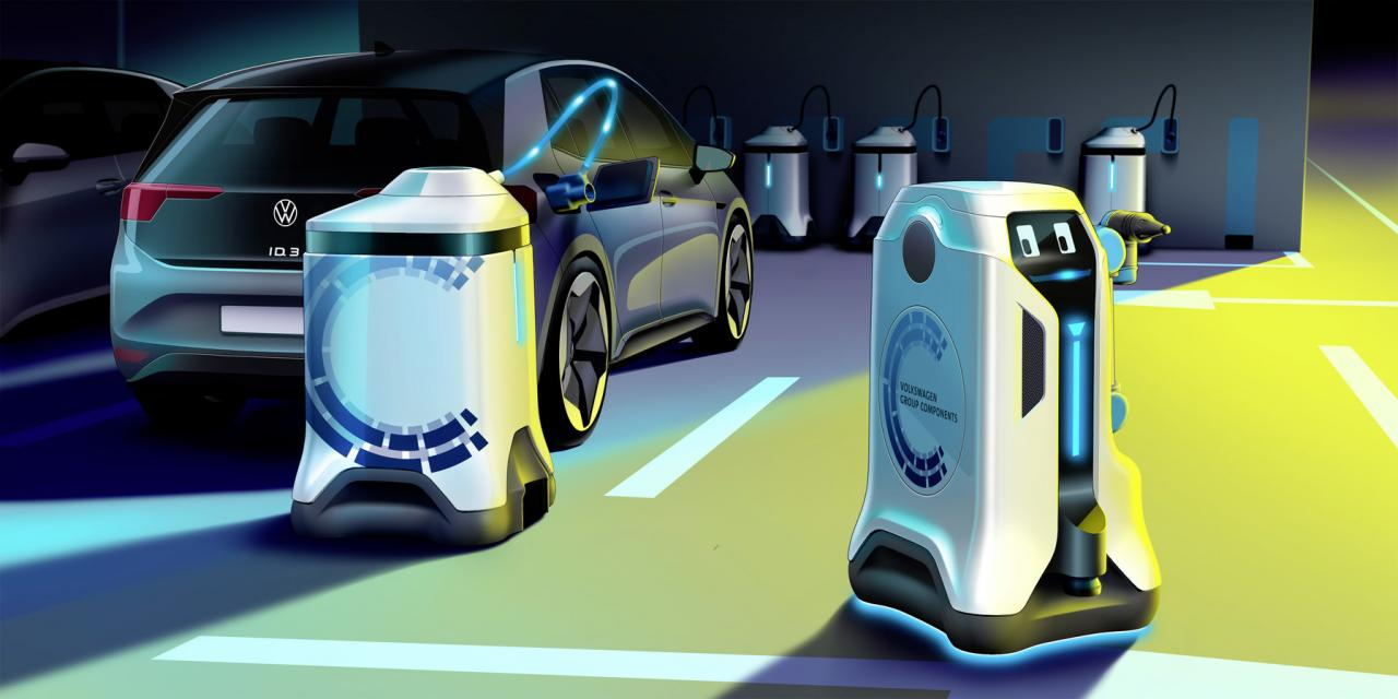 Robot, Batteri, VW