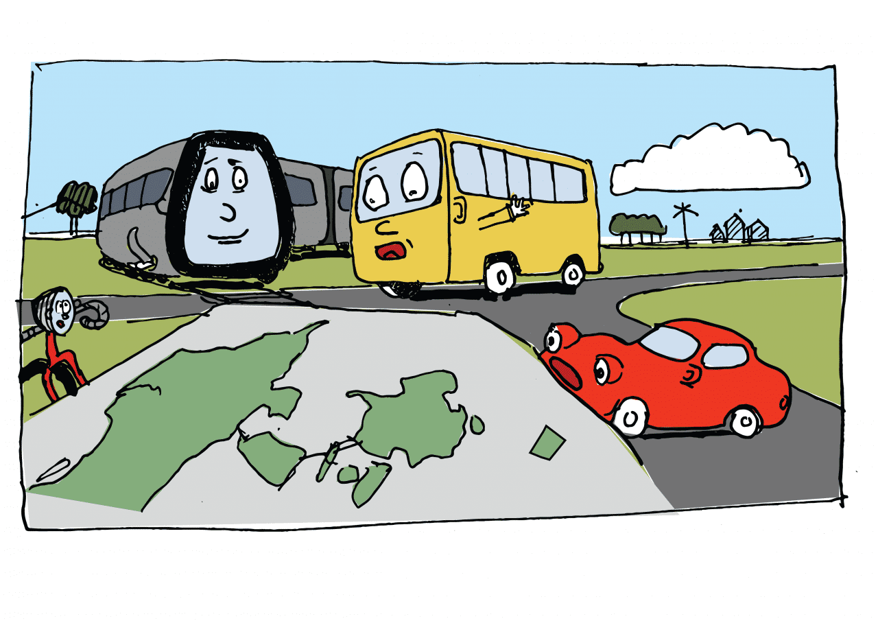 Fire trafikformer