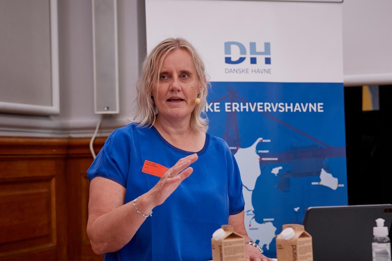Tine Kirke Pedersen, direktør, Danske Havne