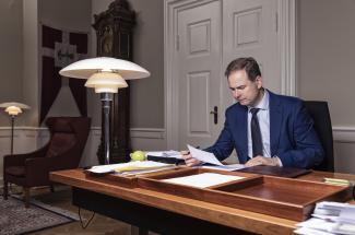 Nicolai Wammen Finansministeren