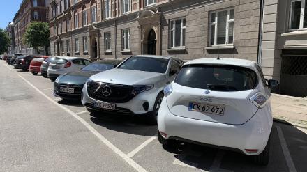Nye tal: Tusindvis af nye biler har indtaget København1