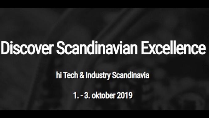 Hi Tech & Industry Scandinavia 2019