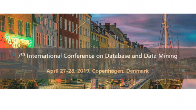 7th International Conference on Database and Data Mining