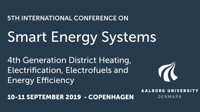 5th International Conference on Smart Energy Systems and 4th Generation District Heating