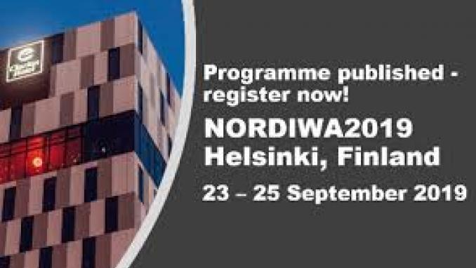 Nordic Wastewater Conference 2019
